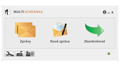 Chcete, aby vaše rozhraní datových schránek vypadalo takto?